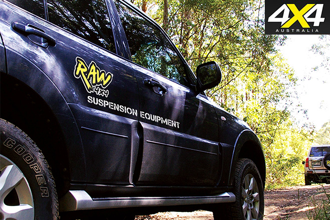 Raw 4x4 suspension 3