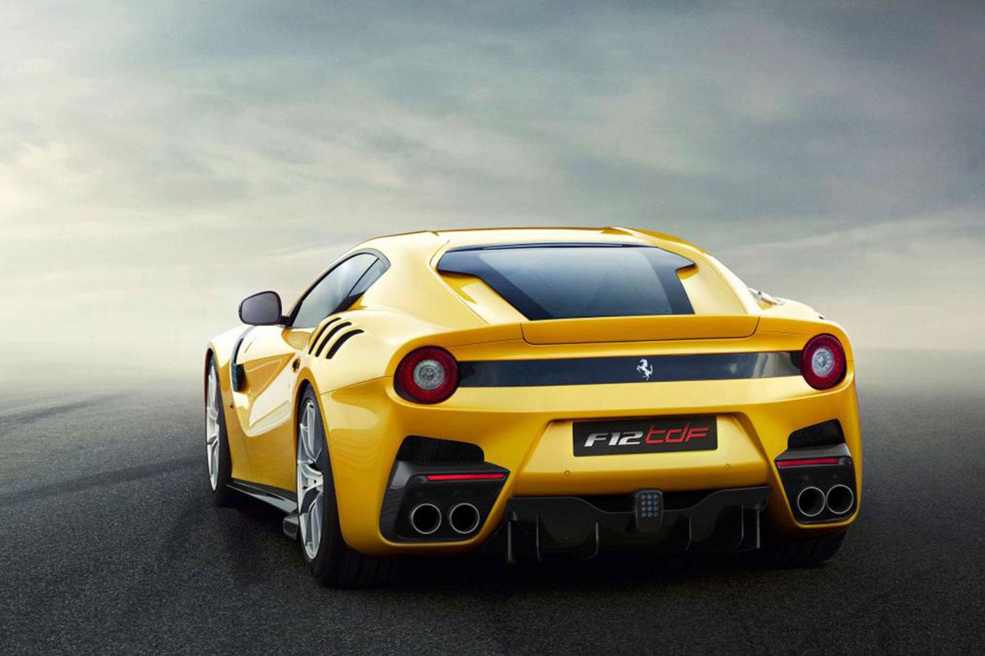 Ferrari -F12tdf -rear