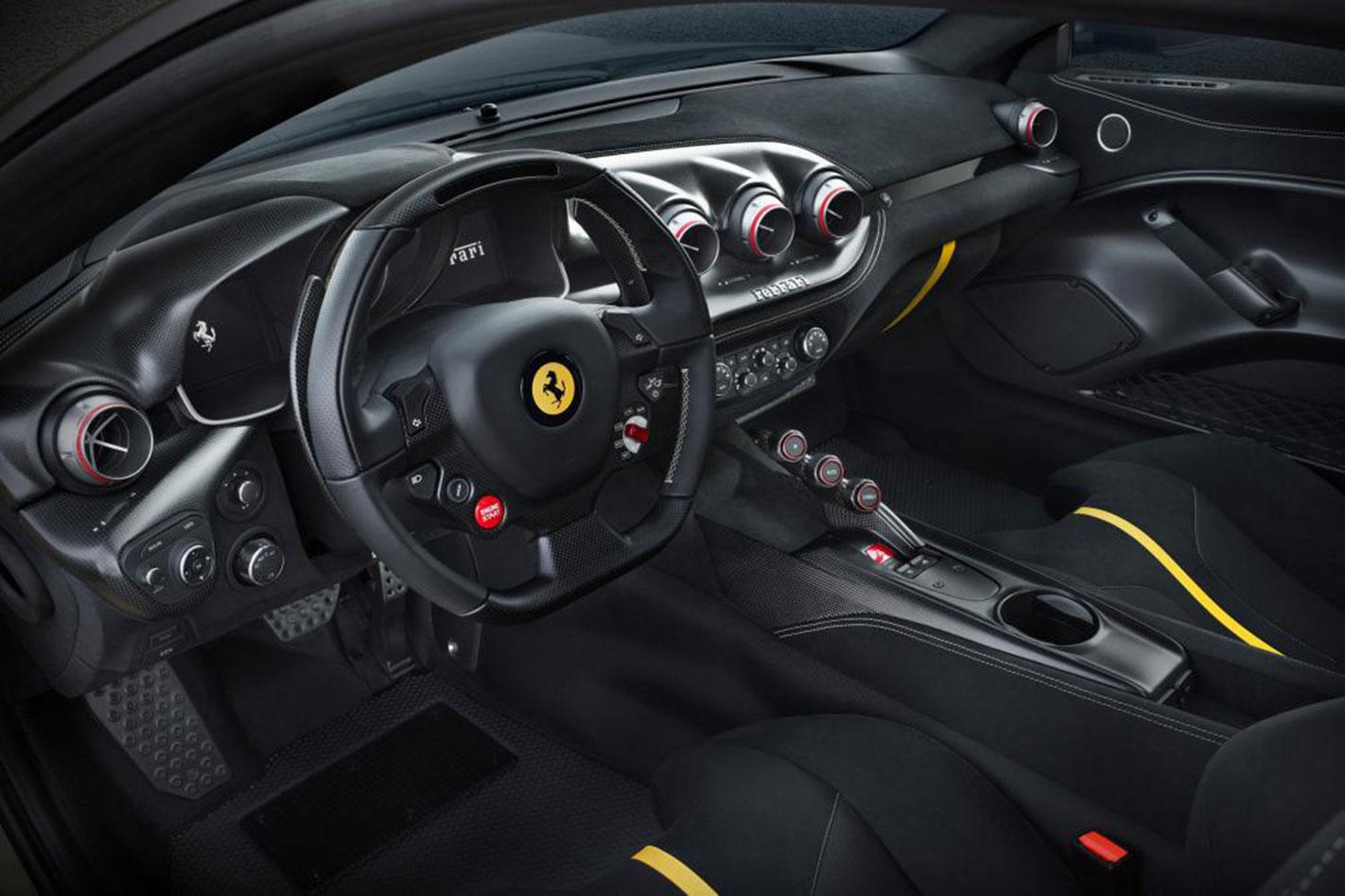 Ferrari -F12tdf -interior