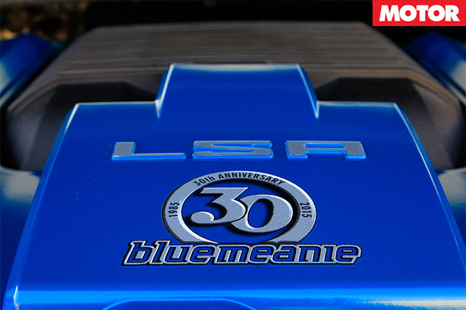 VF Commodore Blue Meanie peter brock lsa