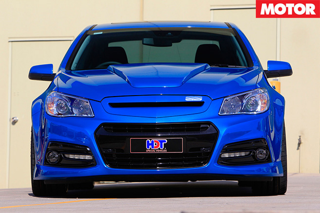 VF Commodore Blue Meanie front