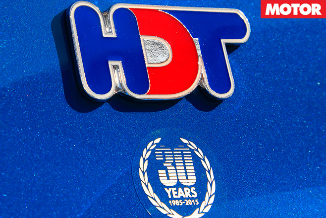 VF Commodore Blue Meanie hdt 30 years