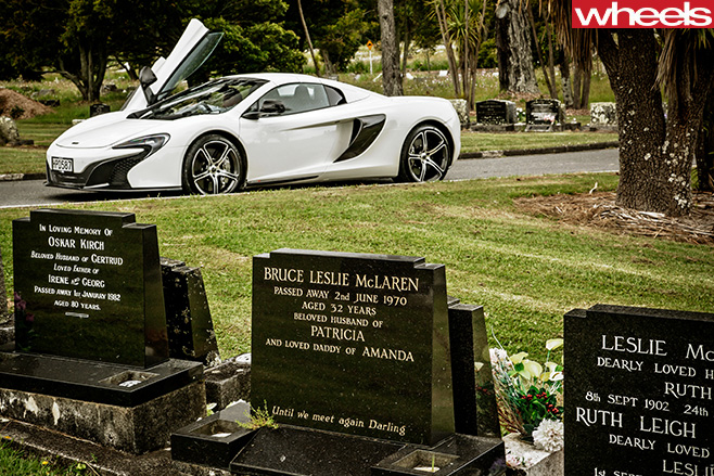 Mc Laren -family -grave