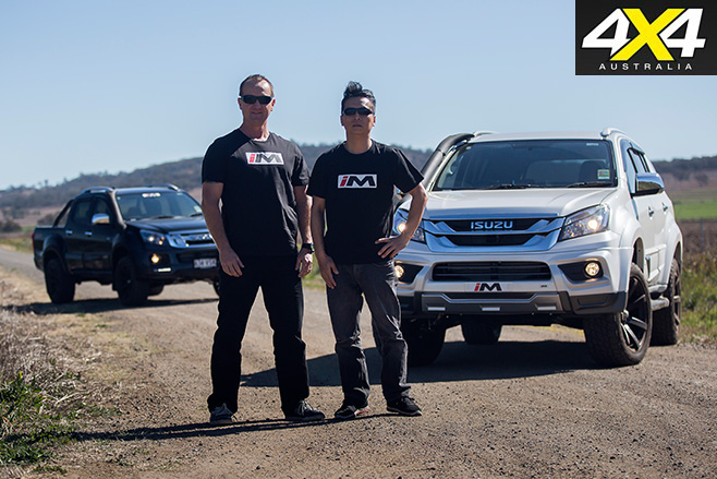 Isuzu utes the guys