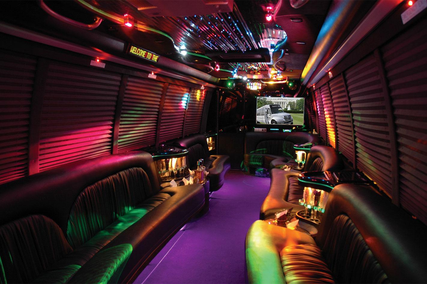 Stretch -Hummer -interior