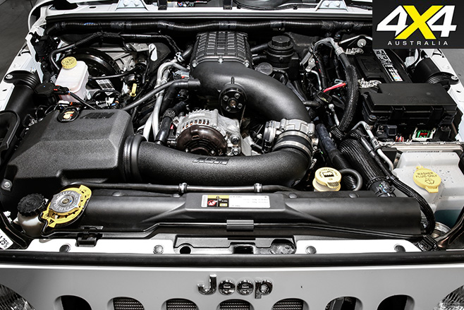 Magnusson -supercharged -Jeep -JK-engine