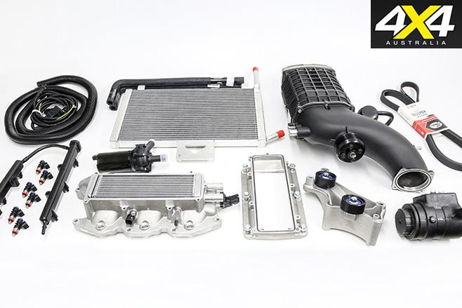 Magnusson -supercharged -Jeep -JK-kit