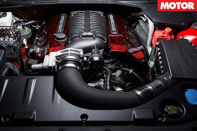 Tekno Tuned VF Clubsport engine