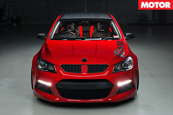 Tekno Tuned VF Clubsport front