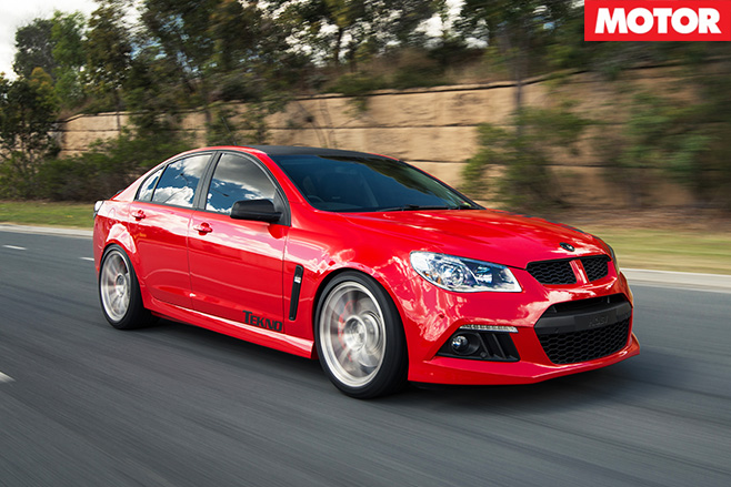 Tekno Tuned VF Clubsport driving