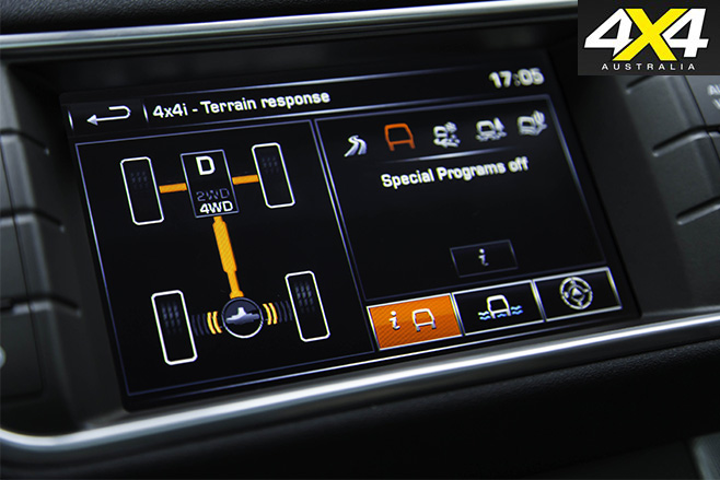 Electronic chassis control system 1