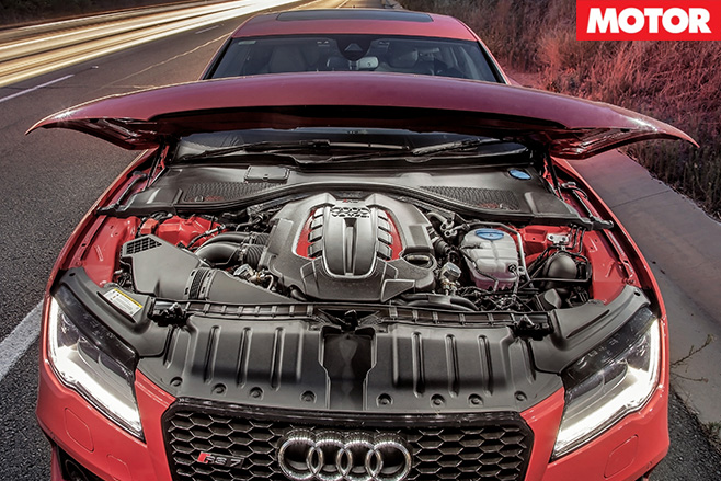 Audi rs7 sportback engine 2