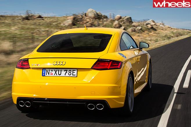 Audi -TTS-rear
