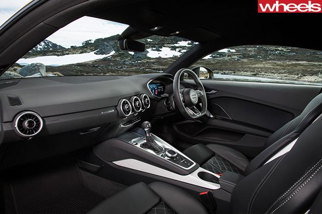 Audi -TTS-interior