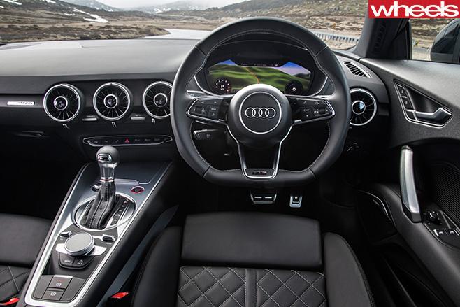 Audi -TTS-interior -cockpit
