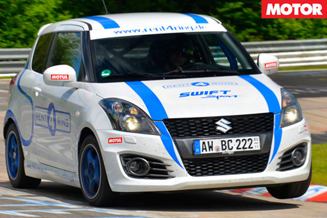 Suzuki swift track car
