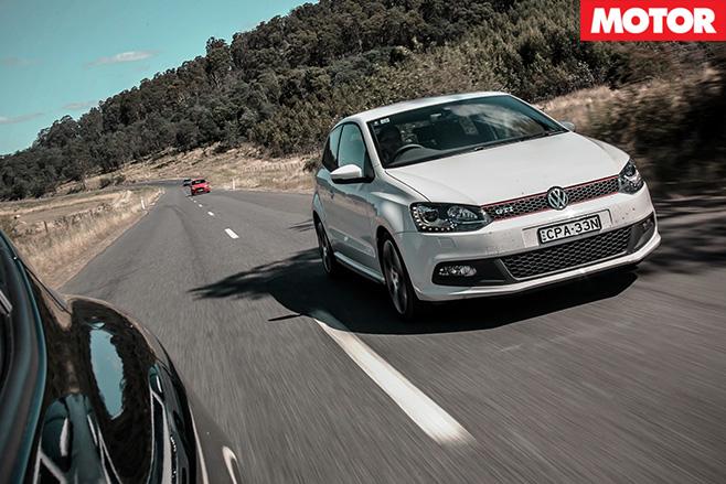 Volkswagen polo GTI driving