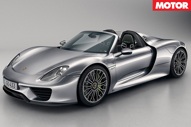 Porsche -918-spyder