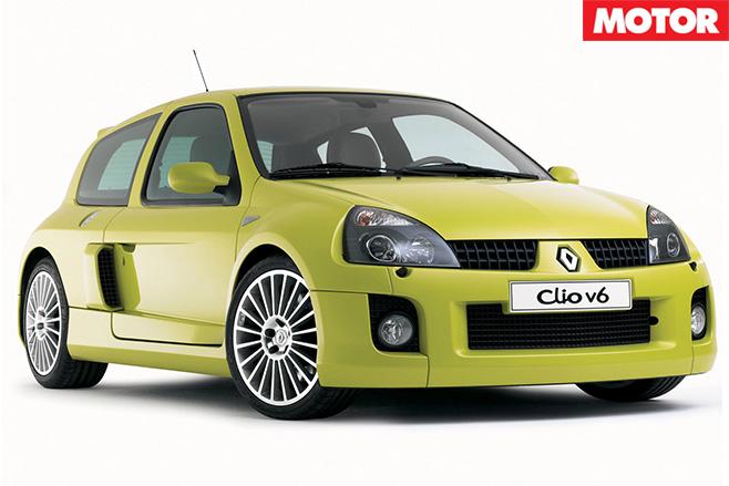 2003-Renault -Clio V6