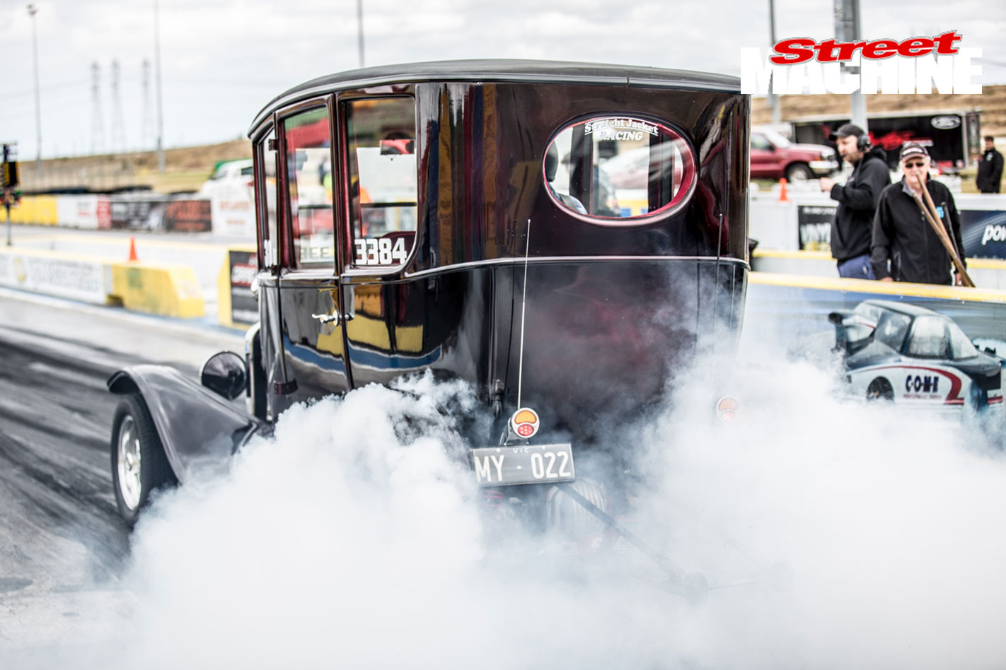 Ford Model T Burnout 3