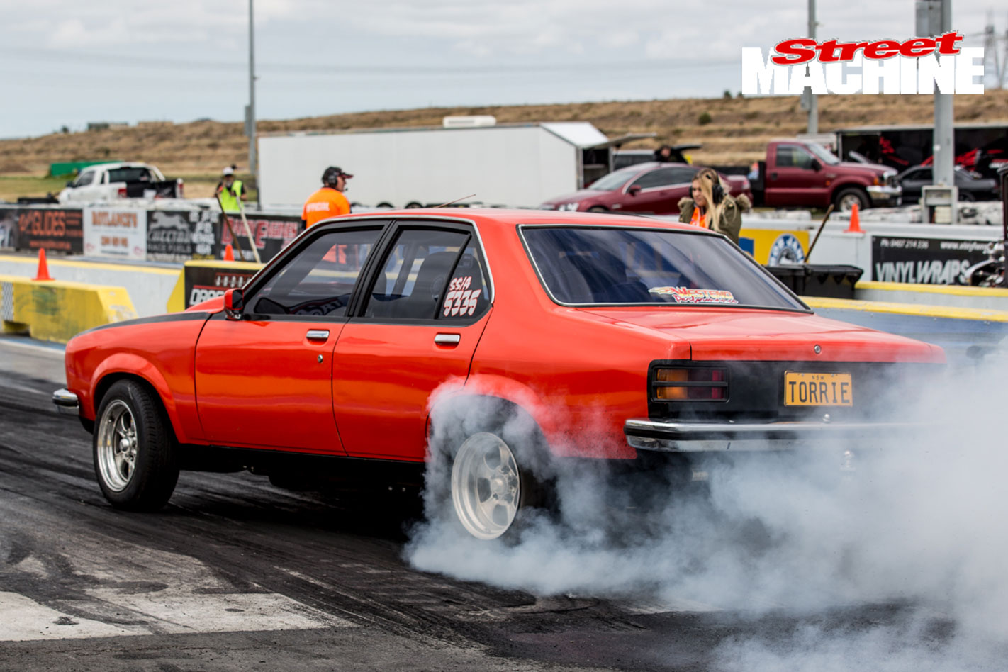 LX Torana Burnout 11