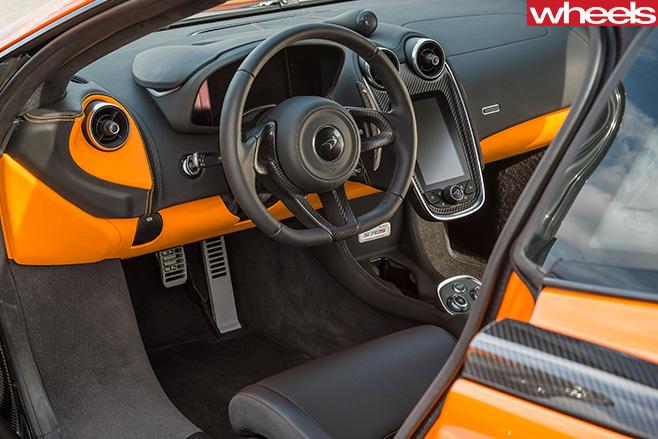 Mc Laren -570s -interior