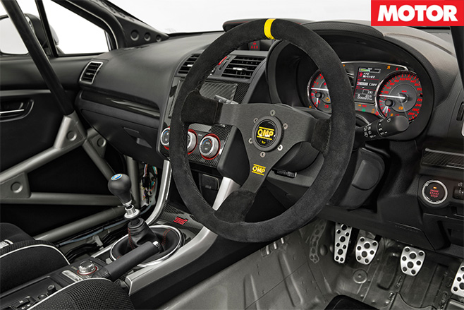 subaru wrx sti nr4 ready to race in australia motor. Black Bedroom Furniture Sets. Home Design Ideas