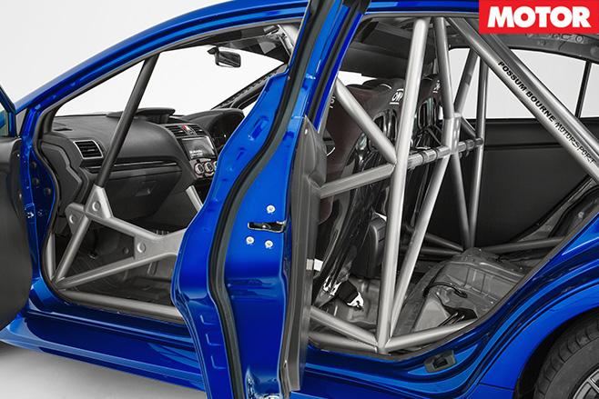 Subaru WRX STI NR4 rollcage