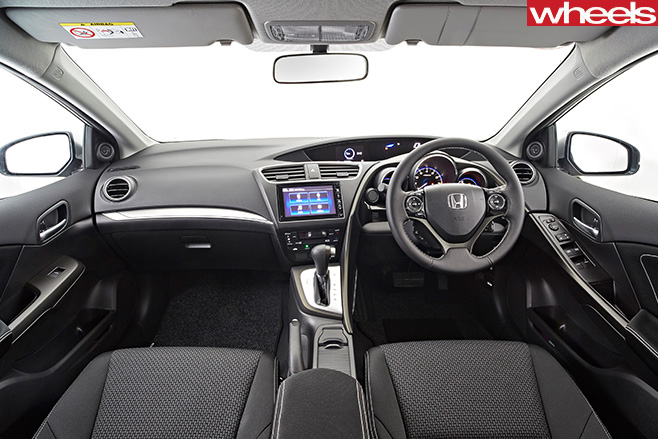 Honda -Civic -interior