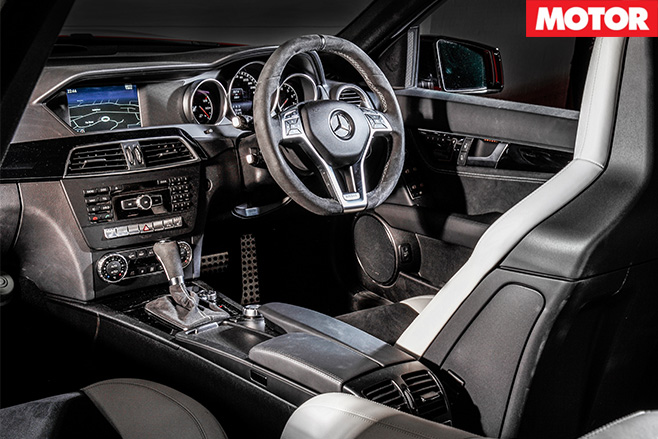 Mercedes C63 507 Estate interior