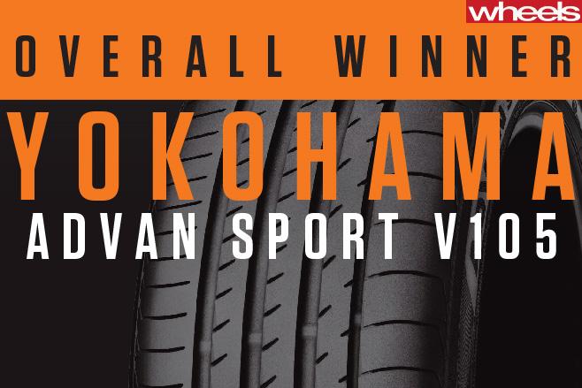 Overall -Winner -Yokohama -Advan -Sport -Tyre