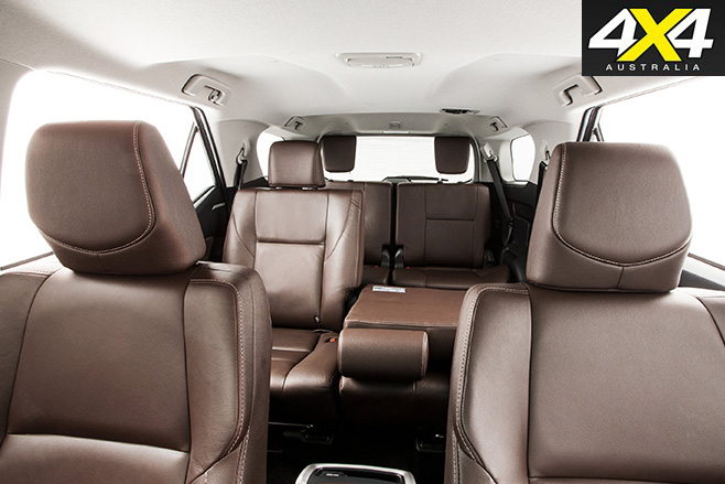 Toyota Fortuner review seats