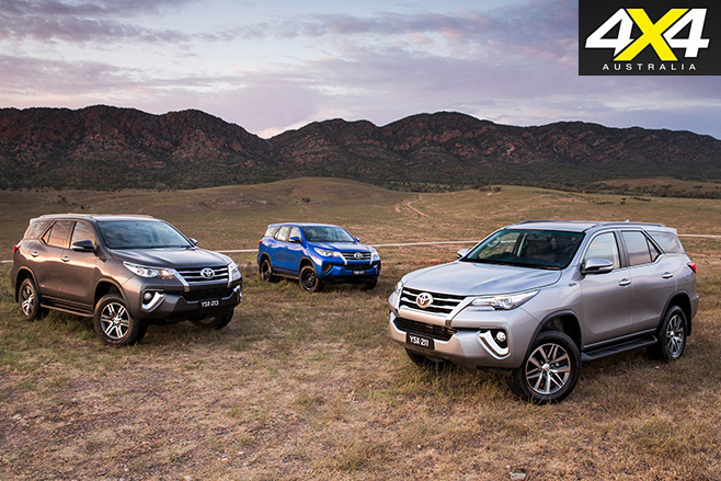 Toyota Fortuner range review