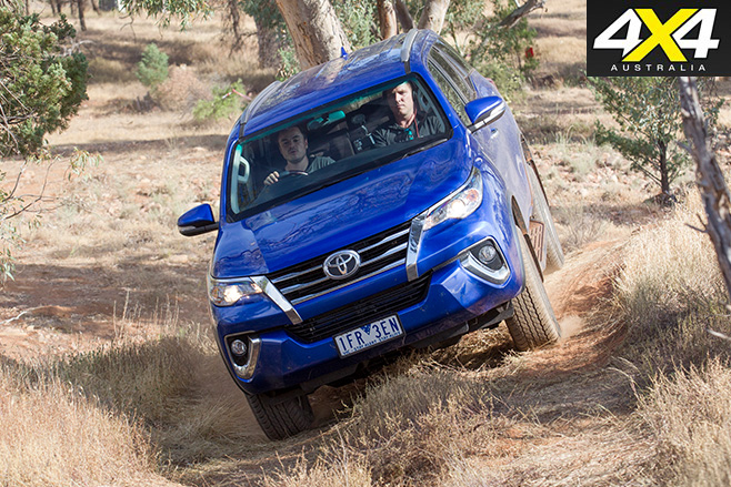 Toyota Fortuner 4WD review