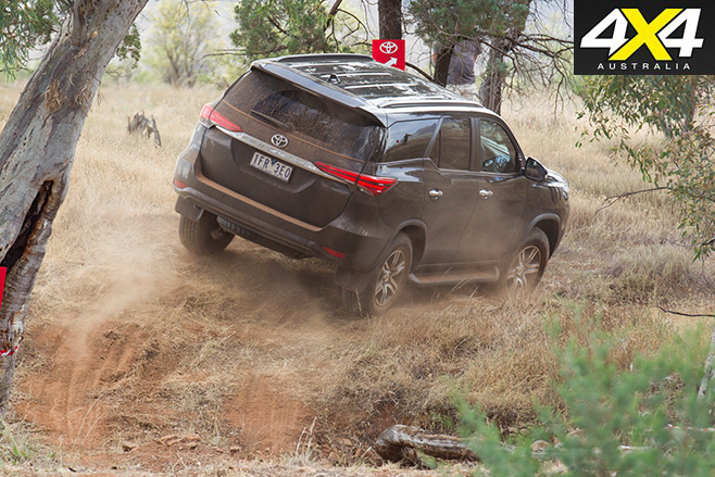 Toyota Fortuner review off road