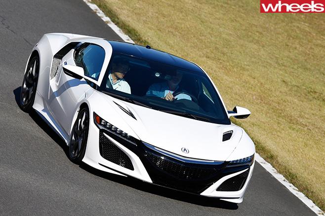 Honda -NSX-top -side