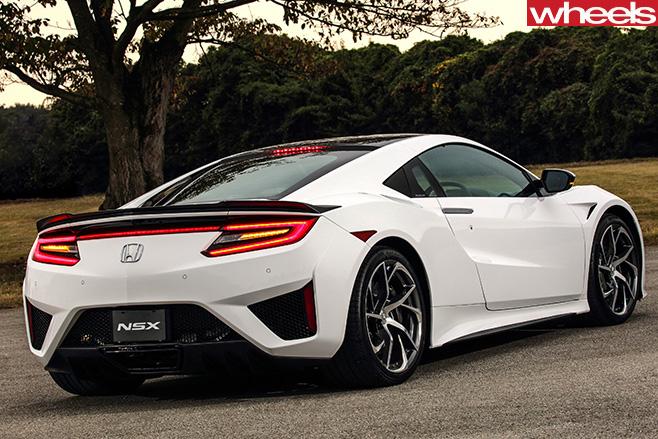 Honda -NSX-rear
