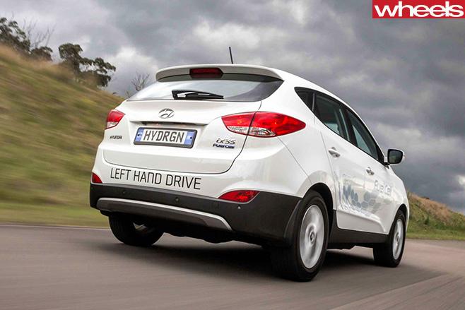 Hyundai -ix 35-hydrogen -rear