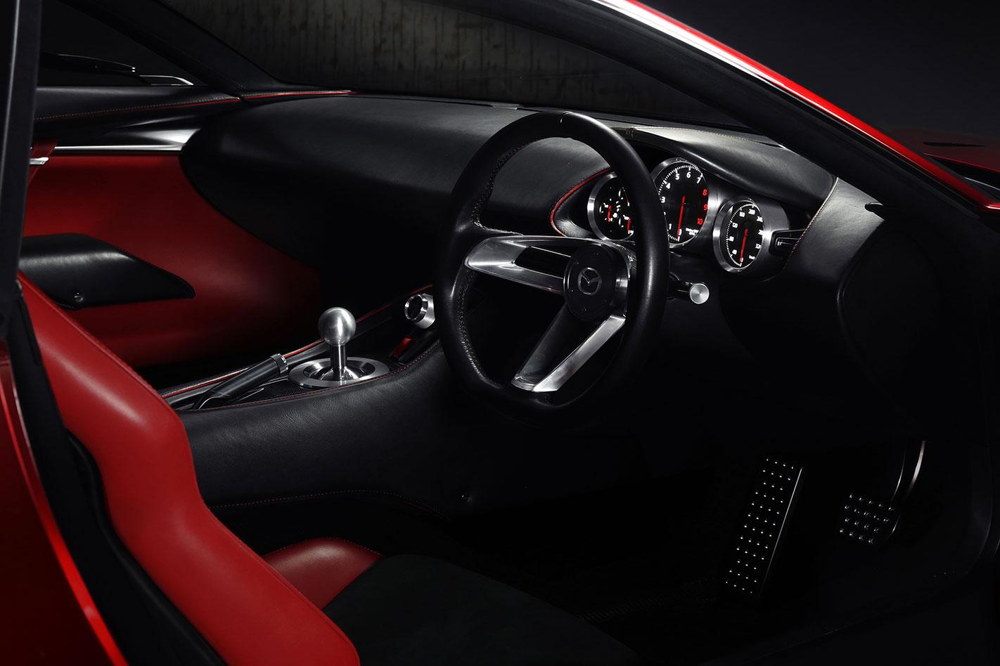 Mazda -RX-Vision -interior