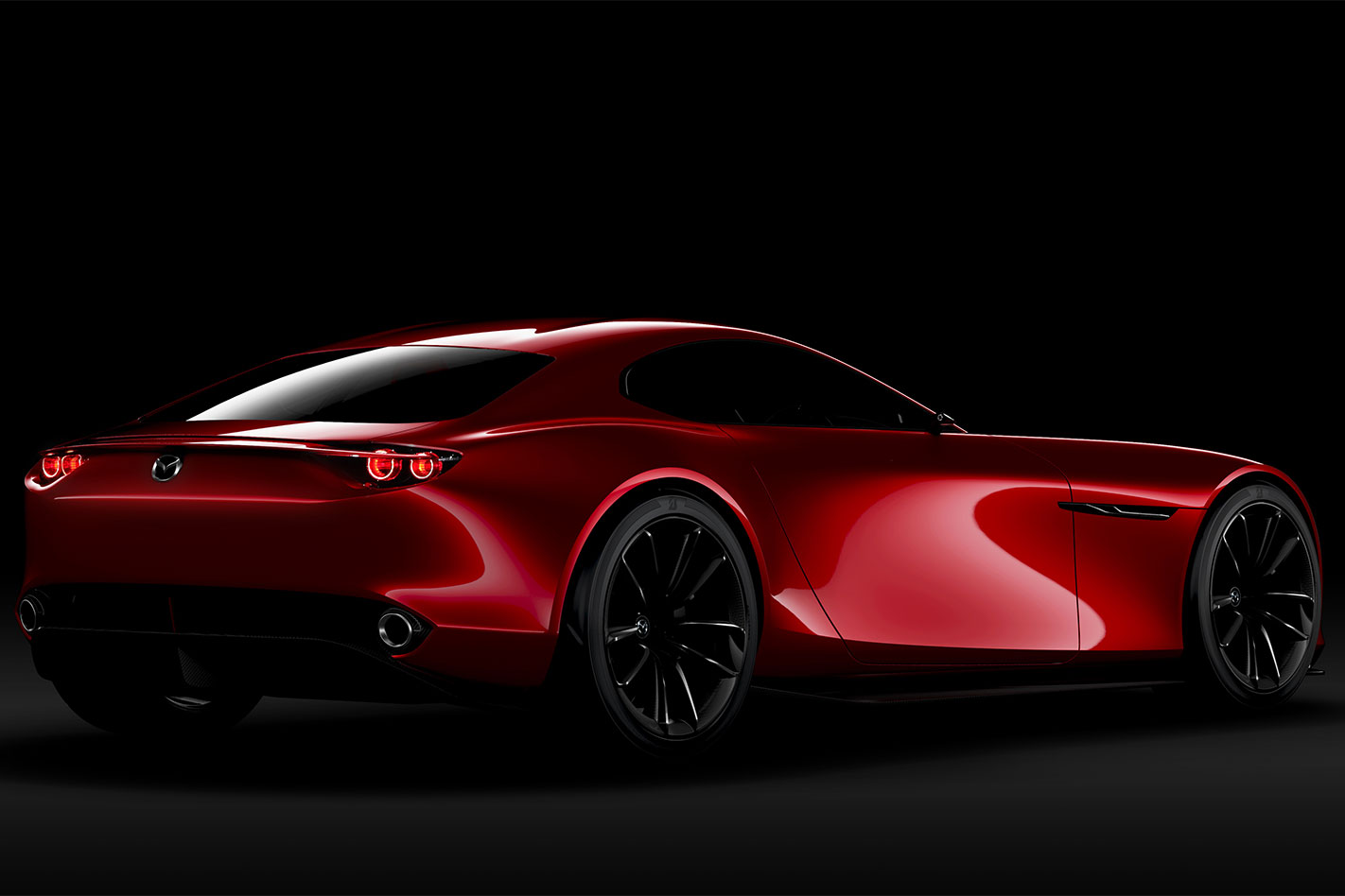 Mazda -RX-Vision -rear
