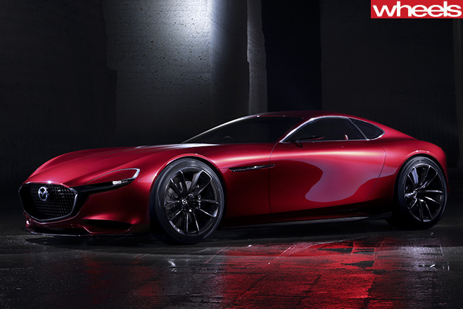 Mazda -RX-vision -concept -front -side