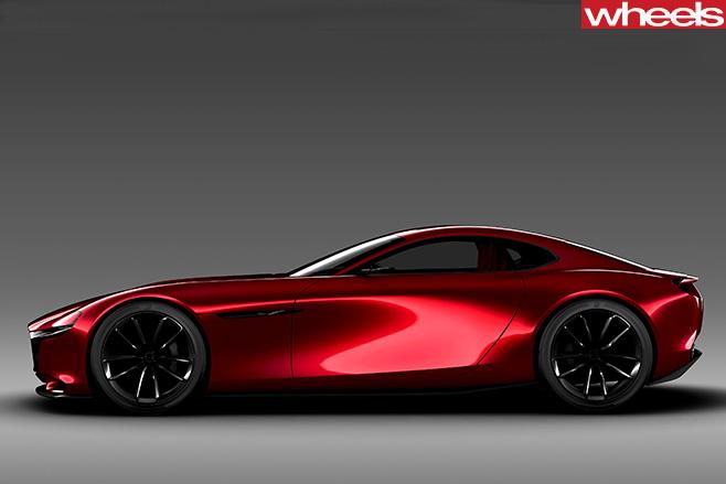 Mazda -RX-vision -concept -side -profile