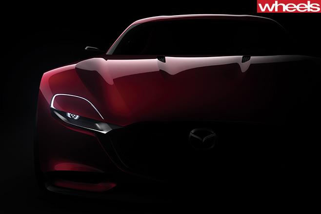 Mazda -RX-vision -concept -front -fascia