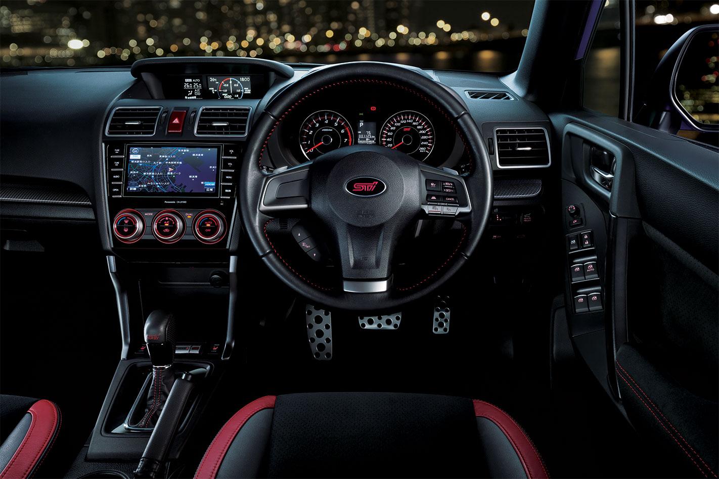 Subaru -Forester -t S-interior