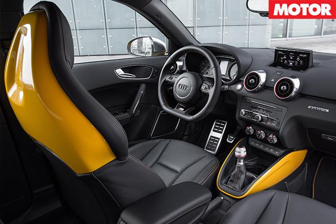 Audi s1 interior