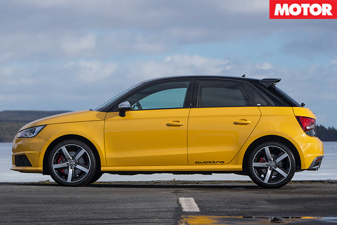 Audi s1 side