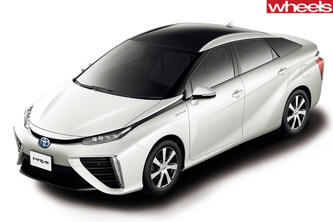 Toyota -Mirai -hydrogen -car -front -side