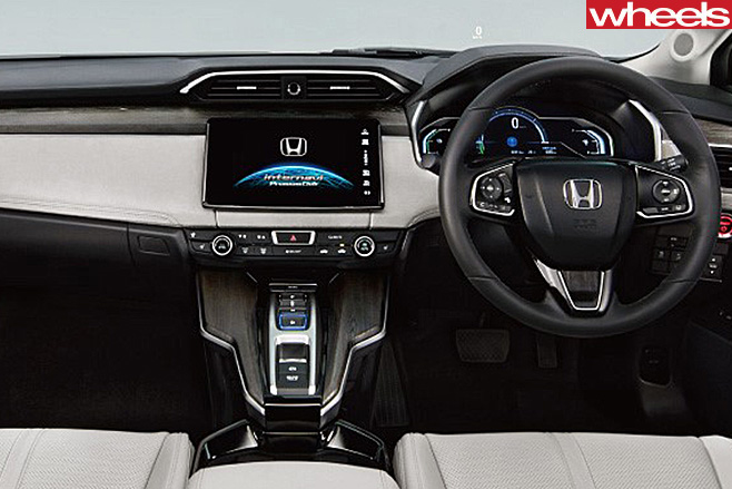 Honda -Clarity -Fuel -Cell -Vehicle -interior