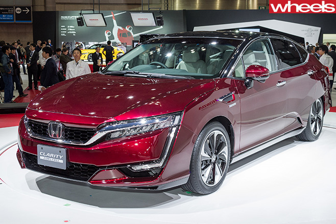 Honda -Clarity -Fuel -Cell -Vehicle -front