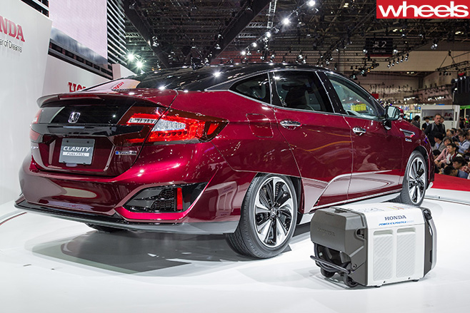 Honda -Clarity -Fuel -Cell -Vehicle -rear
